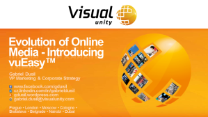 12.Oct.18 - Visual Unity Opening Day, Prague (Evolution of Online Video, title)