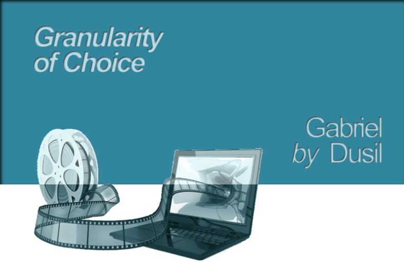 Graphic - Granularity of Choice (title)
