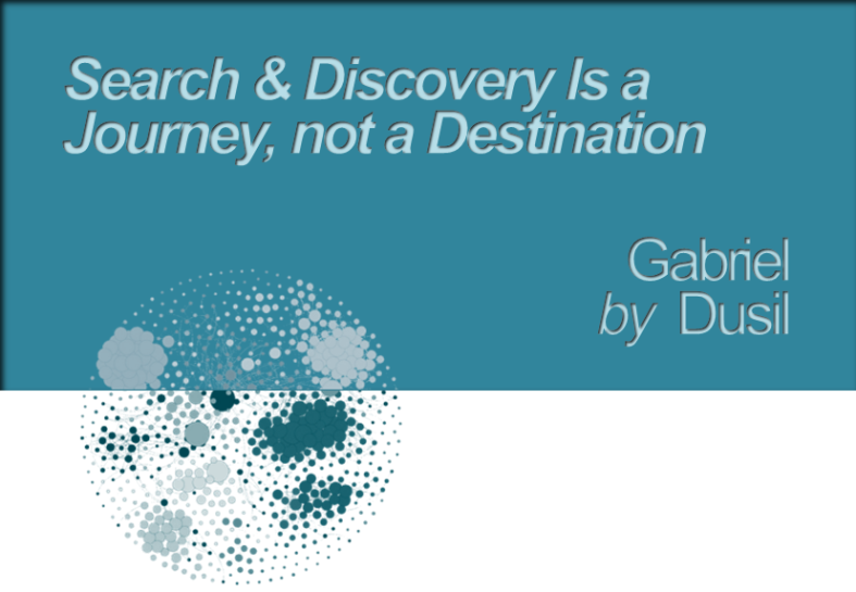 Graphic - Search & Discovery is a Journey (title)