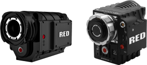 Figure iv - RED One 4K (left) & Epic 5K (right) Digital Cinema Cameras