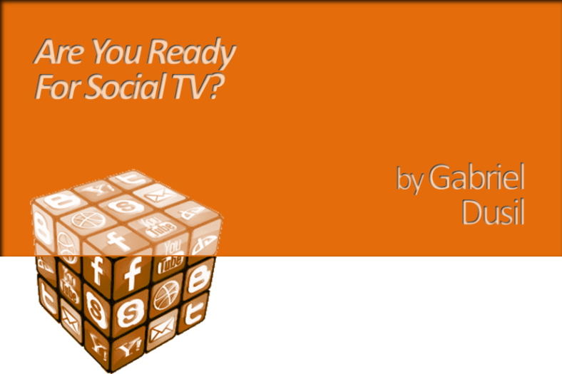 Graphic - Are You Ready For Social TV (title, web)