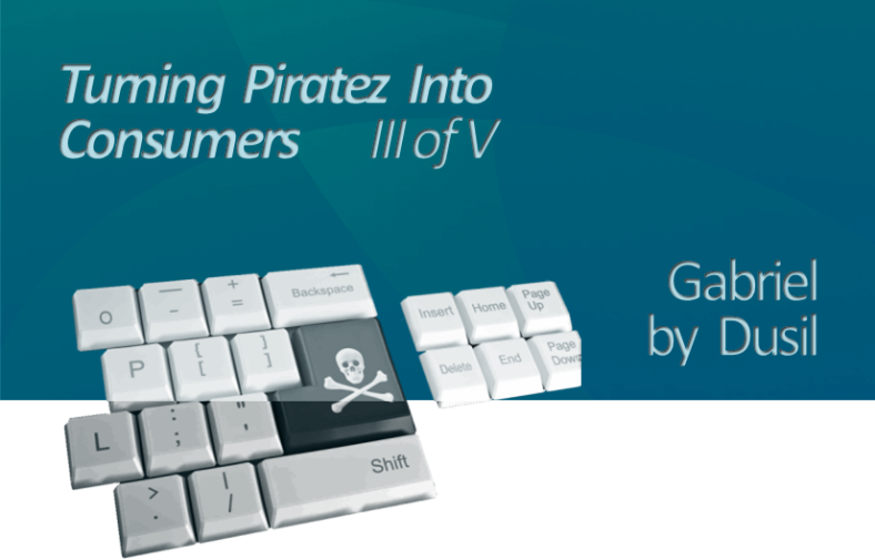 Portfolio - OTT & Multiscreen (X. Turning Piratez into Consumers, III, title, web)