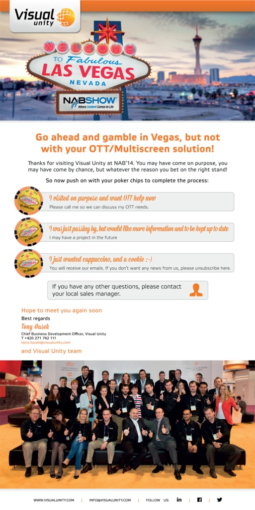 NAB '14, Las Vegas (thank you email, v1.7)