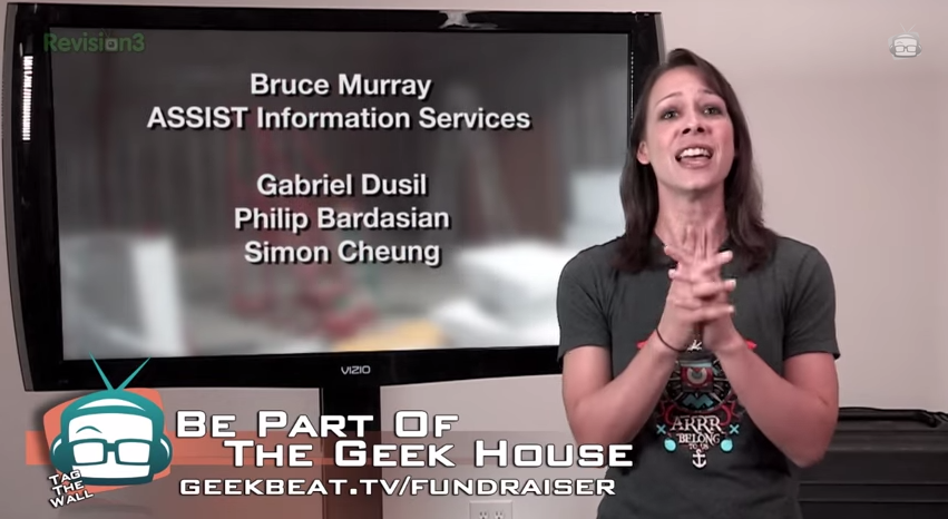 Gabriel Dusil • Sponsoring the Geekbeat.tv House (1/3)