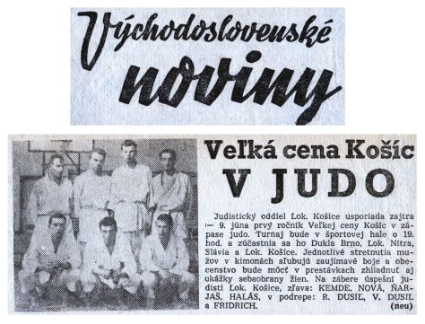 Article, Ve'lká cena Košíce v Judo