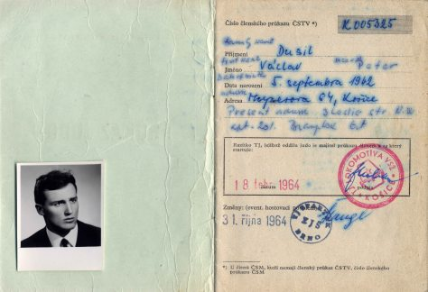 64.Oct.19 - Košice · Document, Vaclav Dusil (Judo Papers, Czech)