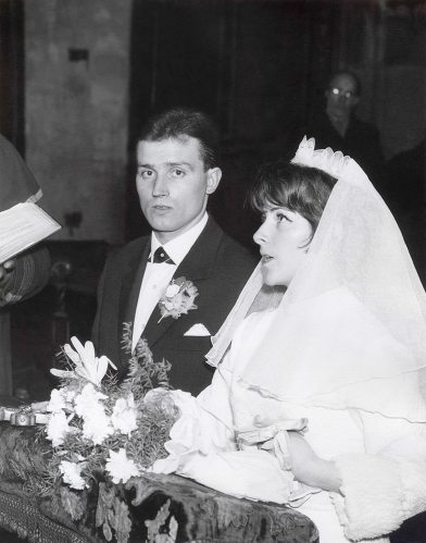 68.Feb.24 - Košice · Eva Kendeova & Vaclav Dusil Wedding (ceremony, restored #b)