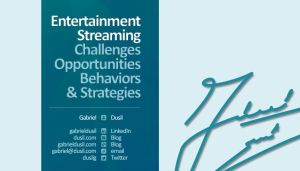 Portfolio - Visual Unity Global (training, 14.Jun.10, #10, Entertainment Streaming)