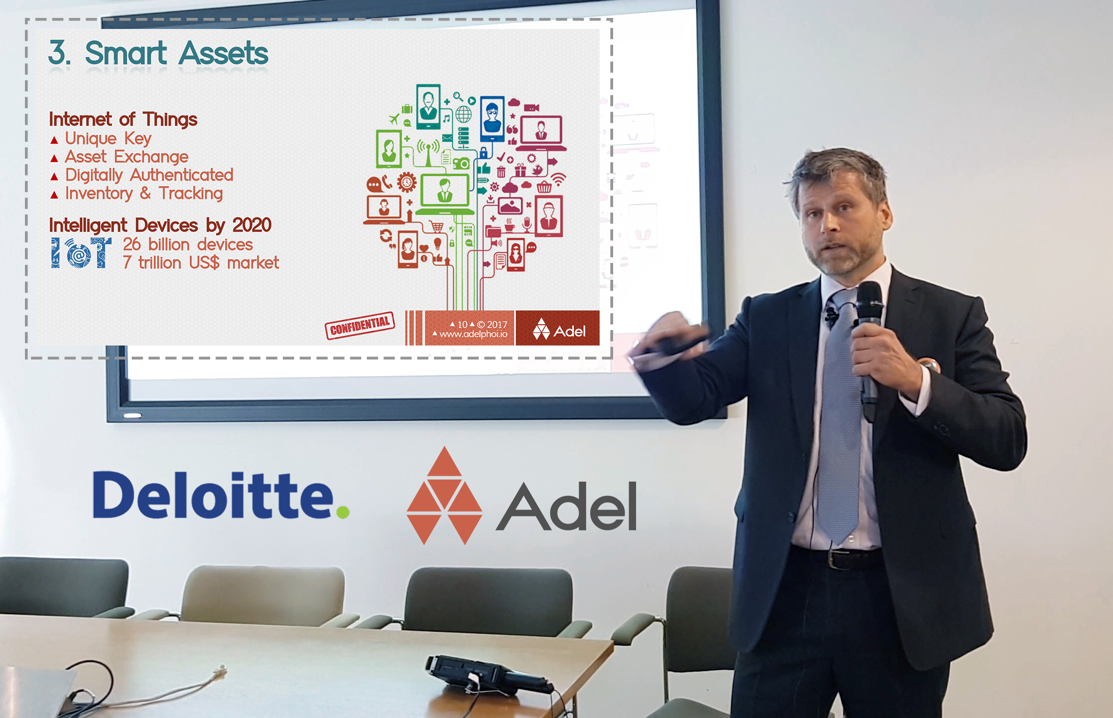 Adel ▲ Seminar ▲ Anatomy of the Blockchain Evolution ▲ Deloitte